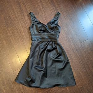 David's Bridal / Black / A-line Dress / Size 6